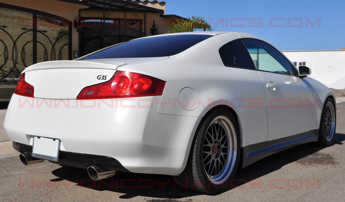 Infiniti Usa Com >> Shorty Gialla spoiler for the 03-07 G35 coupe by Ionic ...